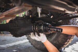 Car repair and service.