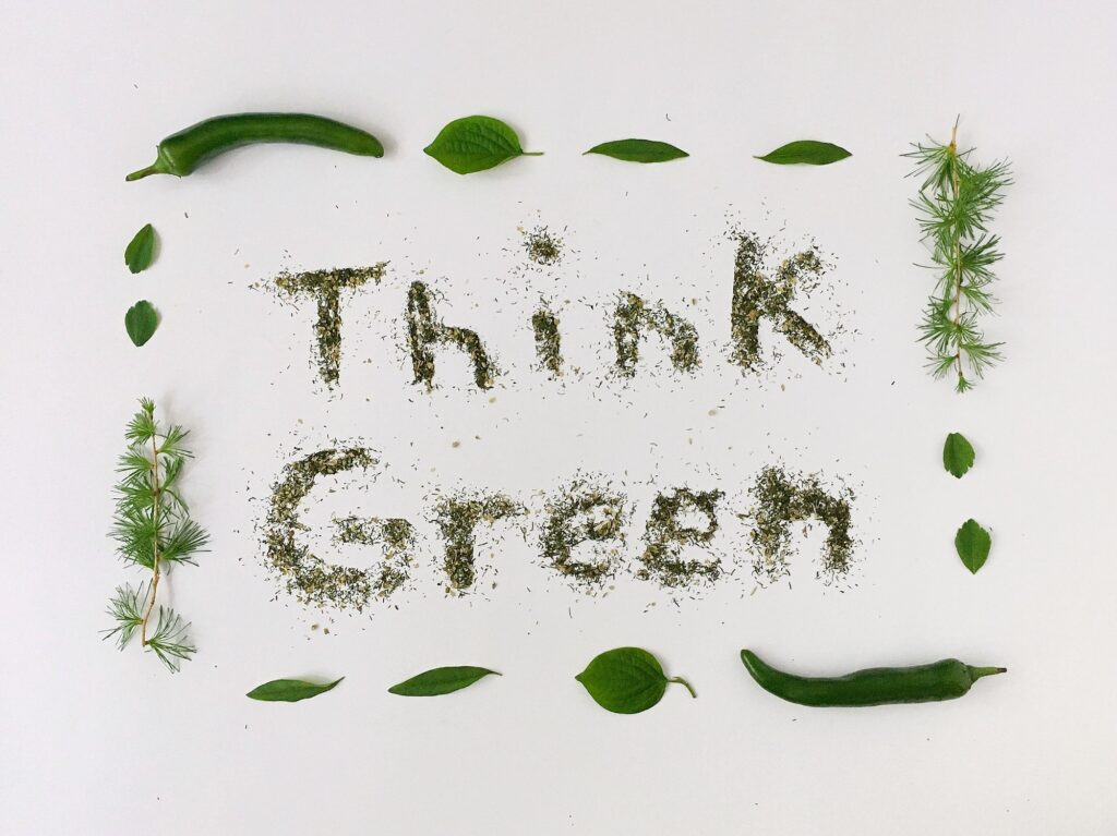 Think green concept 1